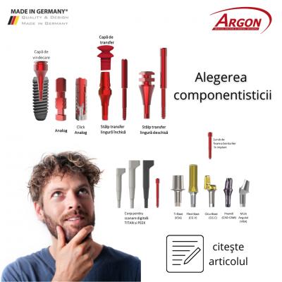 ghid de selecție a componentisticii argon dental